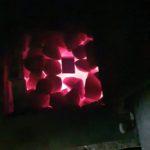 Камни cветятся и сажа горит Банная печь Рамунаса